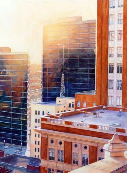 Anke Dodson – Shimmering Sunset