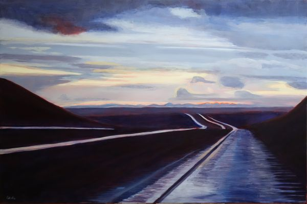Curtis Gruel – Dusk, US 87 in NM