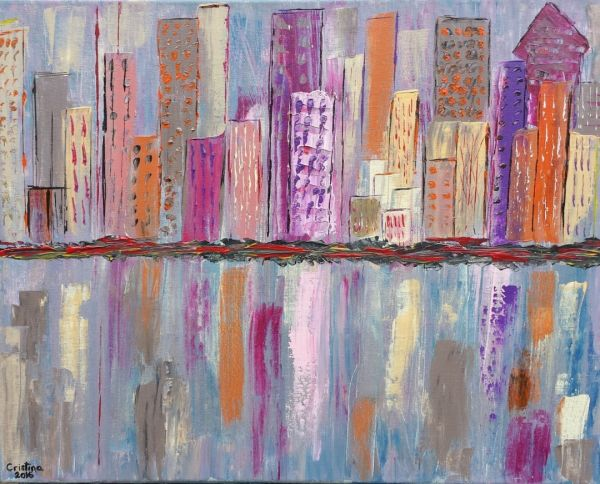 Rimniceanu Cristina – Abstract Cityscape