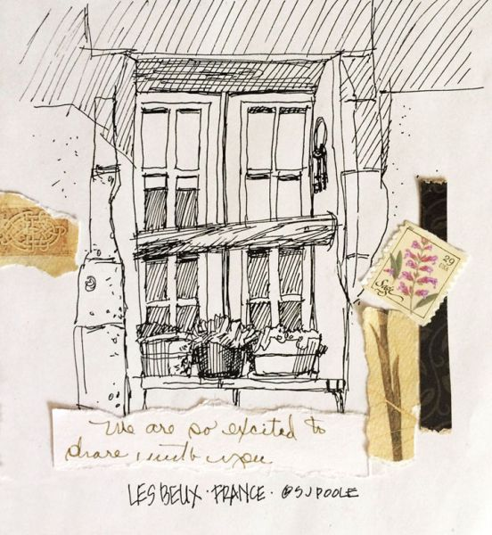 S J Poole – LeBeaux Sketchbook