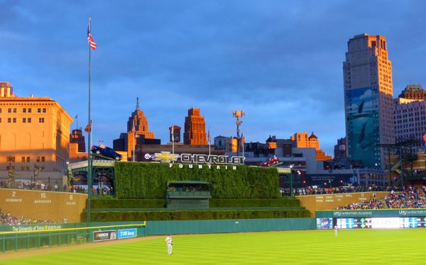 Chris Charron – Comerica at Twilight