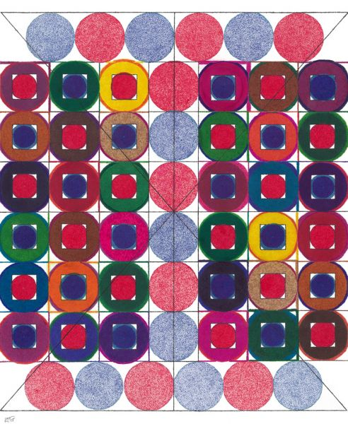 Ken Handel – Circles and Squares