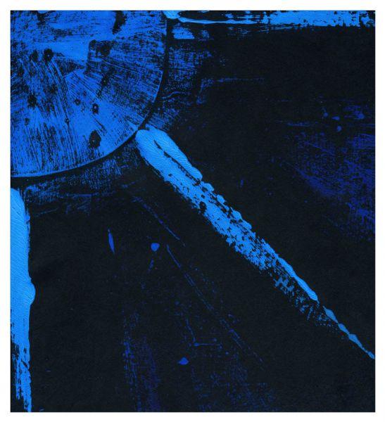 Trace Logan – Blue Sunburst