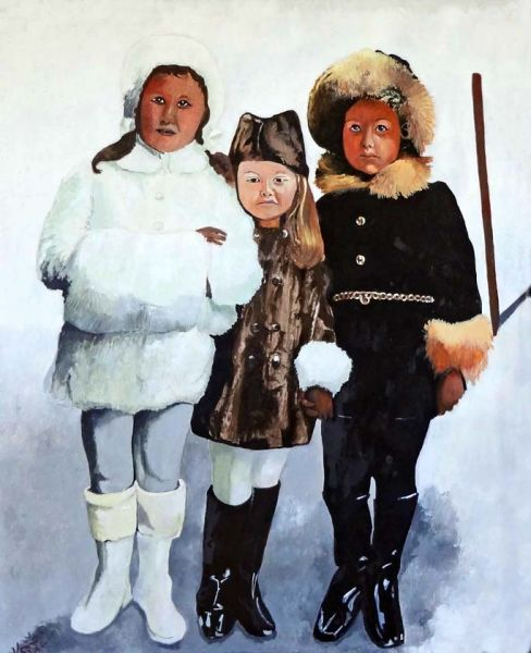 Kristi Richter – Three Russian Children