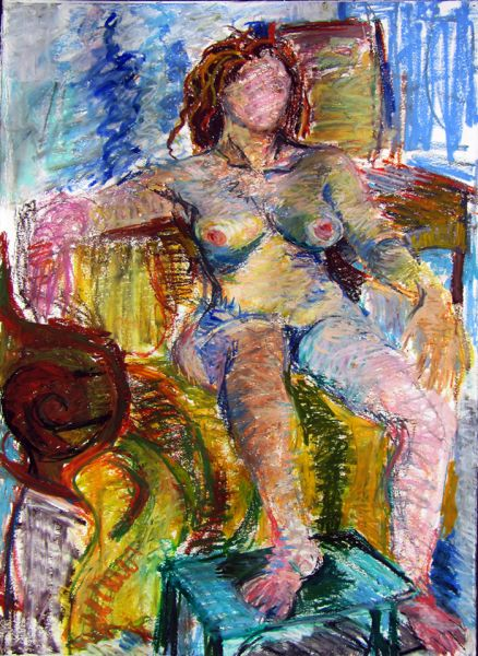Lorna Ritz – Woman in Chair