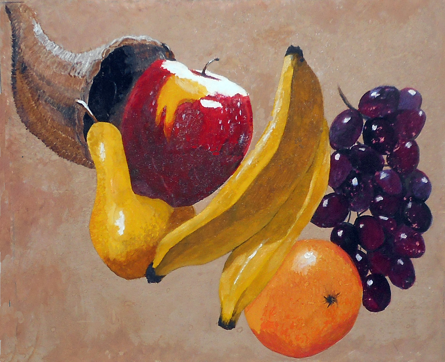 Richter, Kristi A_fruit-cornucopia
