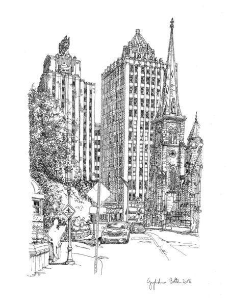 "Guglielmo Botter – ""Harrisburgh, PA: 3rd Street"""