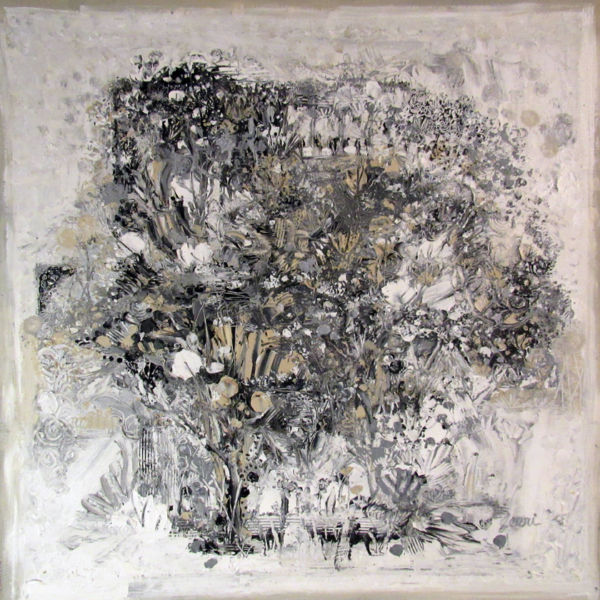 "Jerri Brackett – ""Garden in Taupe"""
