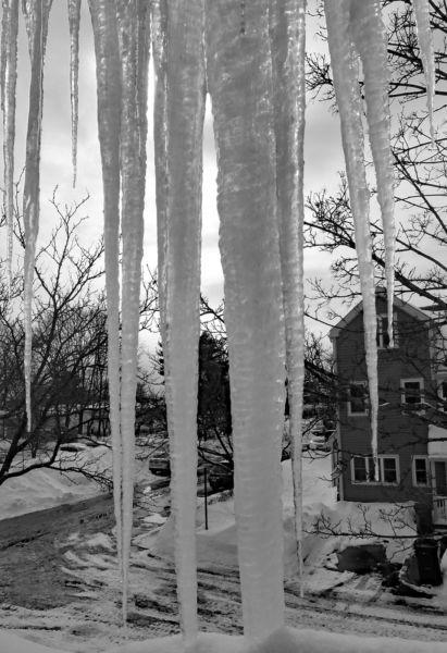 "Marcia Berg Haskell – ""Icicles"""