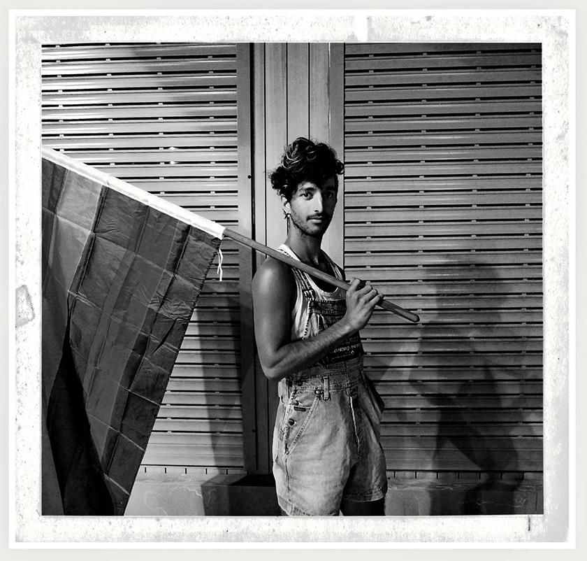 lavon Amir_The flag carrier